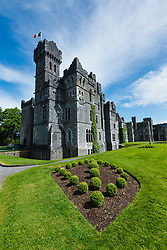Ashford Castle, built in 1228 and now a luxury resort, Cong, County Mayo, Ireland