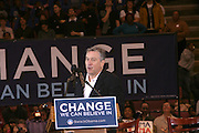 Robert Deniro at Presidental Candidate Barack Obama Rally at The Izod Center at the Meadowlands in New Jersey on February 4, 2008