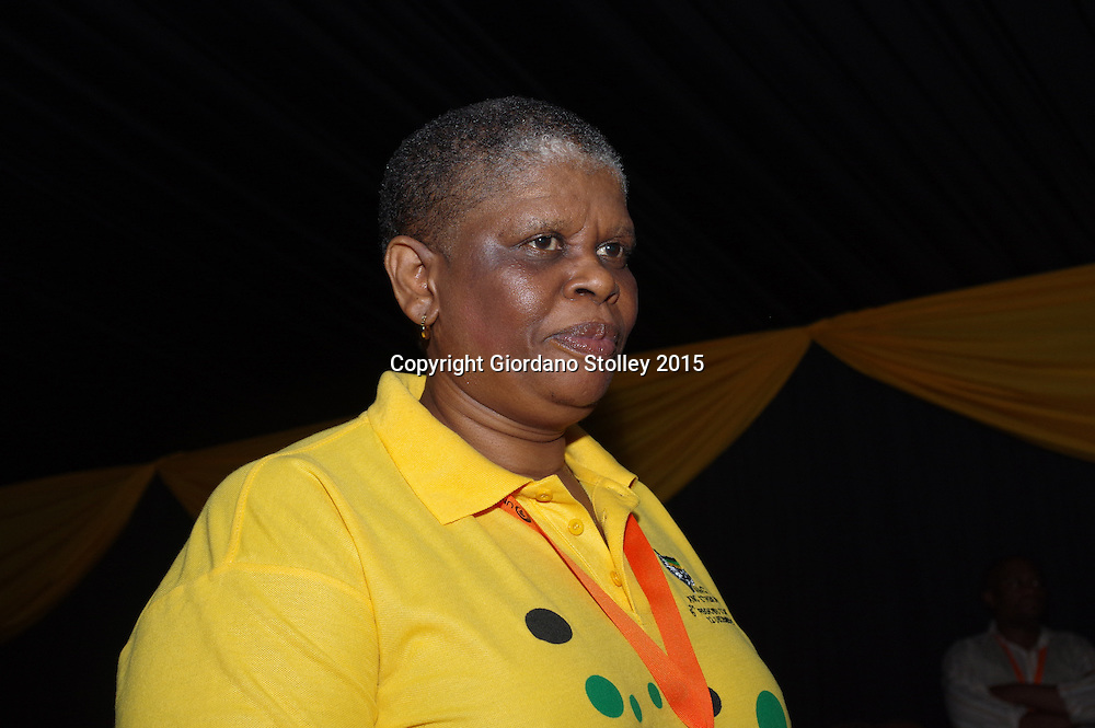 DURBAN - 12 December 2015 - Zandile Gumede, seen here a few hours before she was elected chairperson of the African National Congress's eThekwini Region, the party's largest in the country with 103 branches. Picture: Allied Picture Press/APP