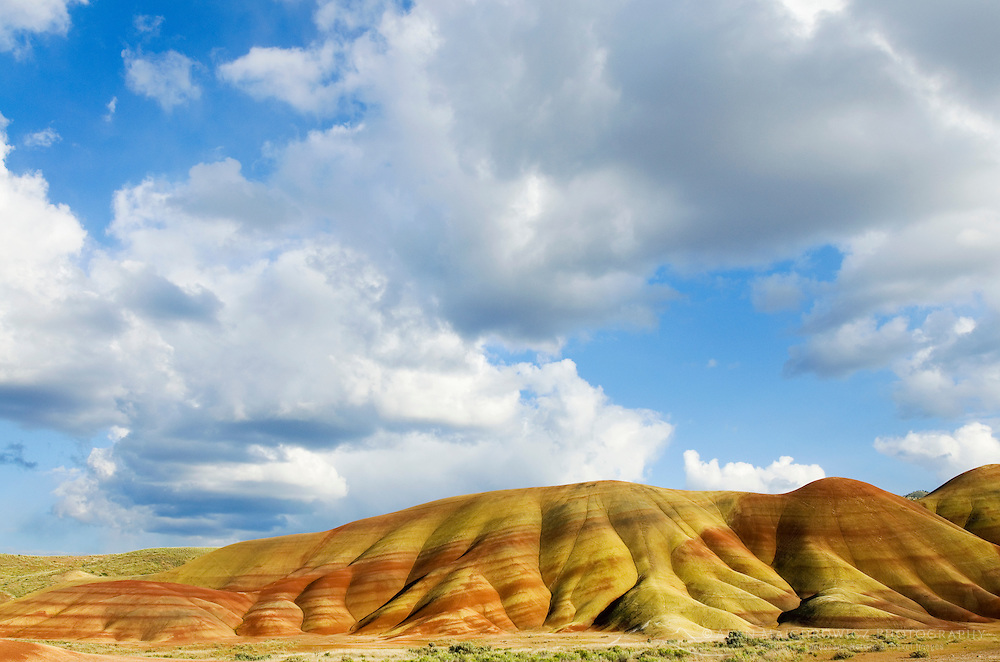 Painted Hill Unit of John Day Fossil Beds National Monument Oregon