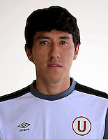 Football - Peruvian League Descentralizado - <br /> Movistar Trophy 2016 - Abertura Tournament / <br /> Club Universitario De Deportes Lima - <br /> Angel Romero