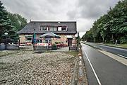 Nederland, Groesbeek, 2019Serie van lege terrassen voor het blad Hollandse Beelden . In het dorp. Foto: Flip Franssen