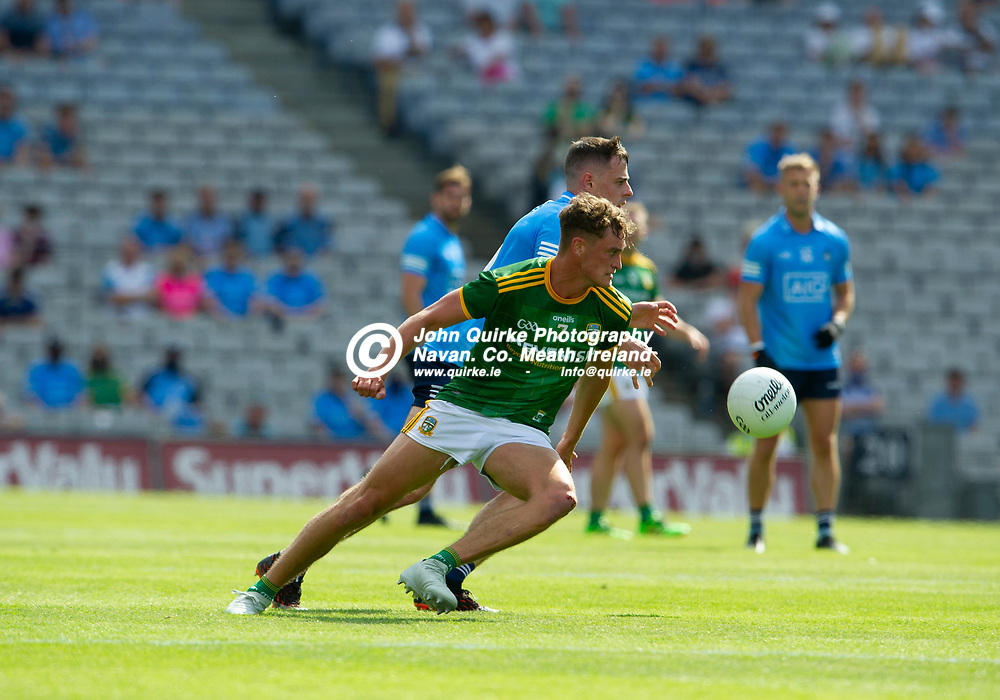 18-07-21. Meath v Dublin - Leinster Senior Football Championship Semi-Final at Croke Park.<br /> Fionn Reilly, Meath in action against Dublin in the Leinster SFC Semi-Final.<br /> Photo: John Quirke / www.quirke.ie<br /> ©John Quirke Photography, 16 Proudstown Road, Navan. Co. Meath. (info@quirke.ie / 046-9028461 / 087-2579454).
