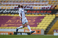 Scunthorpe United Kevin van Veen (10) looks frustrated, looks dejected during the EFL Sky Bet League 2 match between Bradford City and Scunthorpe United at the Utilita Energy Stadium, Bradford, England on 1 May 2021.