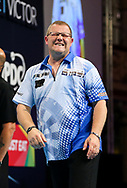Steve West during the BetVictor World Matchplay at Winter Gardens, Blackpool, United Kingdom on 22 July 2018. Picture by Chris Sargeant.