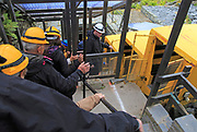 Llechwedd slate mine tourist attraction, Blaenau Ffestiniog, Gwynedd, north Wales, UK