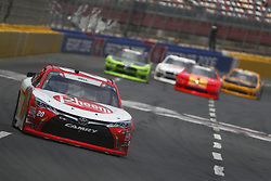 May 26, 2018 - Concord, North Carolina, United States of America - Christopher Bell (20) brings his race car down the front stretch during the Alsco 300 at Charlotte Motor Speedway in Concord, North Carolina. (Credit Image: © Chris Owens Asp Inc/ASP via ZUMA Wire)