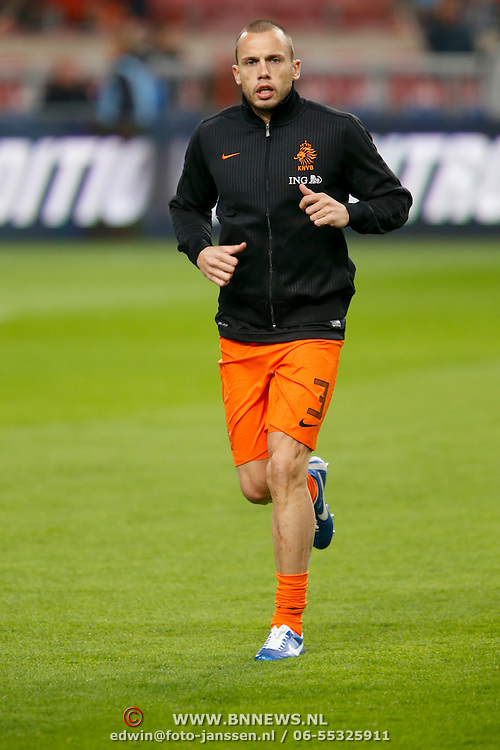 NLD/Amsterdam/20121114 - Vriendschappelijk duel Nederland - Duitsland, John Heitinga