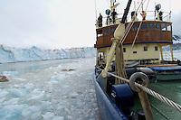 Kings glacier, M/S Stockholm<br /> Kings Bay<br /> Svalbard<br /> Norway