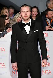 Danny Walters attending the National Television Awards 2018 held at the O2, London. Photo credit should read: Doug Peters/EMPICS Entertainment