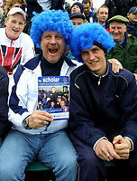 Photo: Dave Linney.<br />Chasetown v Oldham Athletic. The FA Cup. 06/11/2005.<br />Chasetown fans up for the cup.