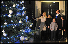 The PM Switches on the Xmas Tree Lights