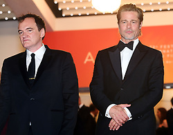 Once Upon a Time in Hollywood premiere at Cannes Film Festival. 21 May 2019 Pictured: Quentin Tarantino, Brad Pitt. Photo credit: MEGA TheMegaAgency.com +1 888 505 6342