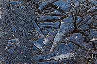 11.04.2009.Ice formation..Bergslagen, Sweden.
