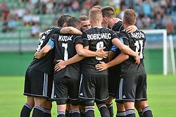 Team of NS Mura celebrates during football match between NS Mura and NK Triglav Kranj in 1st Round of Prva liga Telekom Slovenije 2018/19, on July 21, 2018 in Mestni stadion Fazanerija, Murska Sobota , Slovenia. Photo by Mario Horvat / Sportida