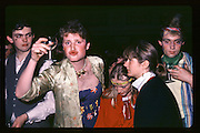 Justin Tate Piers Gaveston Ball. Oxford Town Hall. 1981 approx.© Copyright Photograph by Dafydd Jones 66 Stockwell Park Rd. London SW9 0DA Tel 020 7733 0108 www.dafjones.com