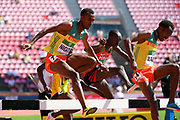 Takele Nigate (ETH) wins the Gold Medal in 3000 Metres Steeplechase Men during the IAAF World U20 Championships 2018 at Tampere in Finland, Day 6, on July 15, 2018 - Photo Julien Crosnier / KMSP / ProSportsImages / DPPI