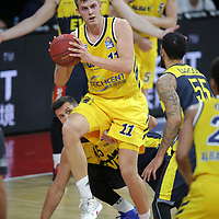 #11 Brenneke von Alba Berlin<br /> Basketball, nph0001 1.Bundesliga BBL-Finalturnier 2020.<br /> Halbfinale Spiel 2 am 24.06.2020.<br /> <br /> Alba Berlin vs EWE Baskets Oldenburg <br /> Audi Dome<br /> <br /> Foto: Christina Pahnke / sampics  / POOL / nordphoto<br /> <br /> National and international News-Agencies OUT - Editorial Use ONLY