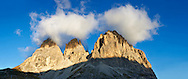 Sassolungo Mountain range, 3081m high, from the Sulla Pass between the Val Gardena and Val di Fassa, the Western Dolomites, Southern Tyrol; Trentino, Italy. .<br /> <br /> Visit our ITALY PHOTO COLLECTION for more   photos of Italy to download or buy as prints https://funkystock.photoshelter.com/gallery-collection/2b-Pictures-Images-of-Italy-Photos-of-Italian-Historic-Landmark-Sites/C0000qxA2zGFjd_k<br /> If you prefer to buy from our ALAMY PHOTO LIBRARY  Collection visit : https://www.alamy.com/portfolio/paul-williams-funkystock/dolomite-mountains-italy.html