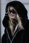 March 17, 2016 - New York, NY, USA - <br /> <br /> Gigi Hadid was seen on Fifth Avenue in New York City <br /> ©Exclusivepix Media