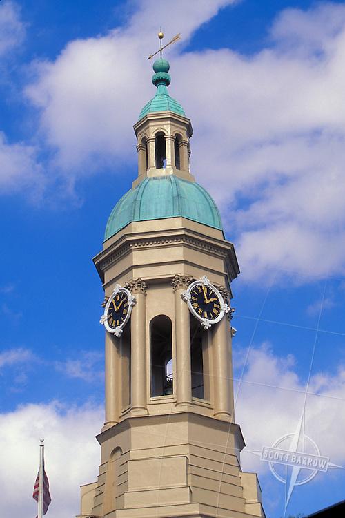 Princeton University, Nassau Hall, New Jersey.