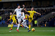 Lee Tomlin of Peterborough United in action during the EFL Sky Bet League 1 match between Oxford United and Peterborough United at the Kassam Stadium, Oxford, England on 16 February 2019.