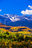 Fall color, San Juan Mountains, Colorado USA.