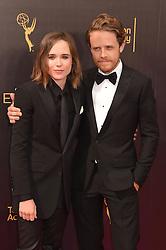 Ellen Page; Ian Daniel bei der Ankunft zur Verleihung der Creative Arts Emmy Awards in Los Angeles / 110916 <br /> <br /> *** Arrivals at the Creative Arts Emmy Awards in Los Angeles, September 11, 2016 ***