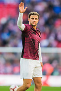 Kyle Walker (England) waves for the ball ahead of the UEFA Nations League match between England and Croatia at Wembley Stadium, London, England on 18 November 2018.