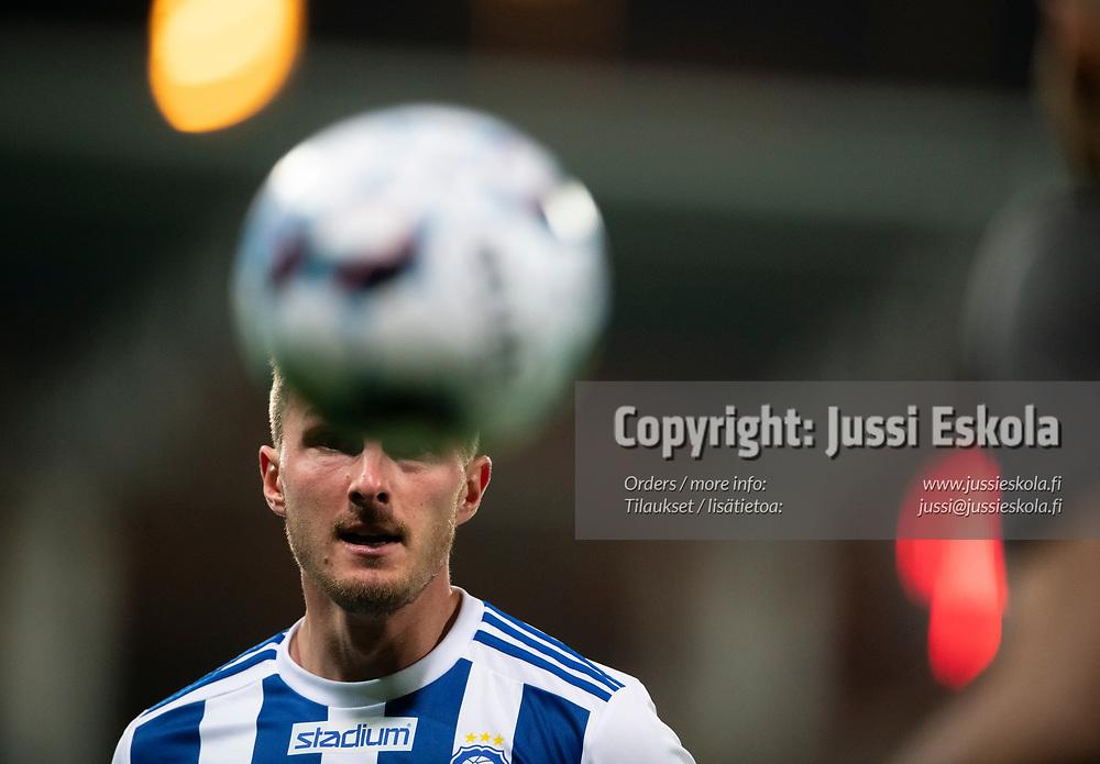 Janne Saksela.  HJK - SJK. Veikkausliiga. Helsinki 3.10.2021. Photo: Jussi Eskola