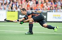 AMSTELVEEN -  Sander Baart (Ned)  tijdens Belgie-Nederland (heren) bij de Rabo EuroHockey Championships 2017.  COPYRIGHT KOEN SUYK
