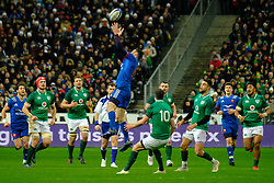 February 3, 2018 - Saint Denis, Seine Saint Denis, France - The Fullback of French Team GEOFFREY PALIS in action during the NatWest Six Nations Rugby tournament between France and Ireland at the Stade de France - St Denis - France..Ireland Won 15-13 (Credit Image: © Pierre Stevenin via ZUMA Wire)