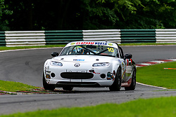 Brayden Fletcher pictured while competing in the BRSCC Mazda MX-5 SuperCup Championship. Picture taken at Cadwell Park on August 1 & 2, 2020 by BRSCC photographer Jonathan Elsey