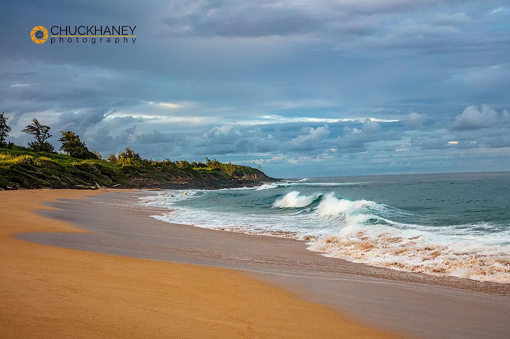 Paliku aka Donkey Beach in Kealia in Kauai, Hawaii, USA