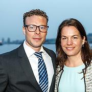 NLD/Amsterdam/20150324 - Schaatsgala 2014, Diane Valkenburgen partner Jaap