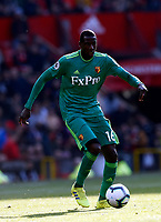 Football - 2018 / 2019 Premier League - Manchester United vs. Watford<br /> <br /> Abdoulaye Doucoure of Watford, at Old Trafford.<br /> <br /> COLORSPORT/ALAN MARTIN