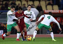 December 26, 2018 - Rome, Italy - As Roma v Us Sassuolo - Serie A..Cengiz Under of Roma in action at Olimpico Stadium in Rome, Italy on December 26, 2018. (Credit Image: © Matteo Ciambelli/NurPhoto via ZUMA Press)