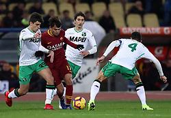 December 26, 2018 - Rome, Italy - As Roma v Us Sassuolo - Serie A..Cengiz Under of Roma in action at Olimpico Stadium in Rome, Italy on December 26, 2018. (Credit Image: © Matteo Ciambelli/NurPhoto via ZUMA Press)