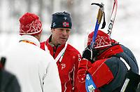 OL 2006 Langrenn menn stafett,<br />Pragelato Plan<br />19..02.06 <br />Foto: Sigbjørn Hofsmo, Digitalsport <br /><br /><br />Bjørn Dæhlie  NOR