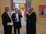 Charles Saumarez Smith; Jonathan Meades; charlotte Verity;  Christopher Le Brun, Royal Academy of Arts Annual Dinner. Burlington House, Piccadilly. London. 6 June 2017