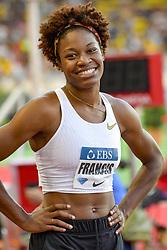 July 20, 2018 - Monaco, France - 400 metres dames - Phyllis Francis  (Credit Image: © Panoramic via ZUMA Press)
