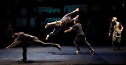 "Balletboyz<br /> ""The Talent""<br /> artistic directors Michael Nunn & William Trevitt <br /> The Arts Depot <br /> Press photocall<br /> 27th January 2011<br /> Balletboyz 10th Anniversary Tour<br /> <br /> ""Void""<br /> <br /> Adam Kirkham<br /> Anthony Middleton<br /> Edward Pearce<br /> Jesus Sanz Mancera<br /> Kai Downham<br /> Leon Poulton<br /> Matthew Rees<br /> Miguel Esteves<br /> Taylor Benjamin <br /> <br /> <br /> <br /> Photograph by Elliott Franks"