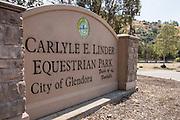 Carlyle E. Linder Equestrian Park in Glendora