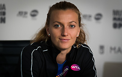 May 6, 2019 - Madrid, MADRID, SPAIN - Petra Kvitova of the Czech Republic talks to the media after her second-round match at the 2019 Mutua Madrid Open WTA Premier Mandatory tennis tournament (Credit Image: © AFP7 via ZUMA Wire)