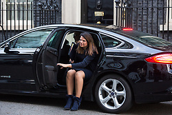 London, UK. 8th January, 2019. Caroline Nokes MP, Secretary of State for Immigration, arrives at 10 Downing Street for the first Cabinet meeting since the Christmas recess.