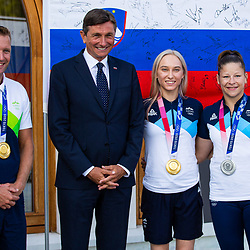 20210810: SLO, Events - Reception of Slovenian Olympic Team at President of Slovenia