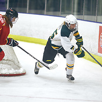 2nd year forward, Ireland South (25) of the Regina Cougars during the Women's Hockey Home Game on Sat Feb 02 at The Co-operators Arena. Credit: Arthur Ward/Arthur Images