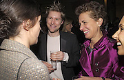 Christopher Bailey and Rose Marie Bravo, British Fashion Awards, V. & A. Museum. 2 November 2004. ONE TIME USE ONLY - DO NOT ARCHIVE  © Copyright Photograph by Dafydd Jones 66 Stockwell Park Rd. London SW9 0DA Tel 020 7733 0108 www.dafjones.com