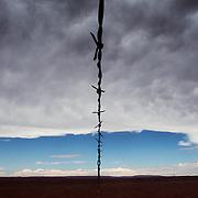The Navajo-Hopi land dispute, Arizona