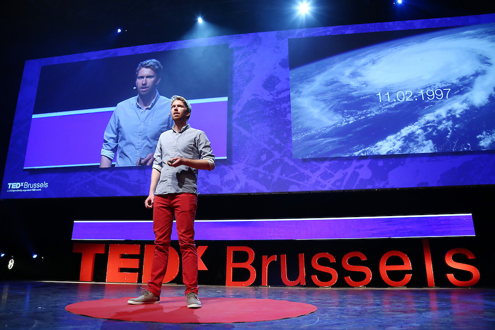 Session IV - Health - 01 December 2014<br /> <br /> Arthur Queval | What hurricanes and health should have in common<br /> <br /> TEDX BRUSSELS 2014 - The Territory and the MAP -  Belgium - Brussels - October 2014 © TEDx Brussels/Scorpix